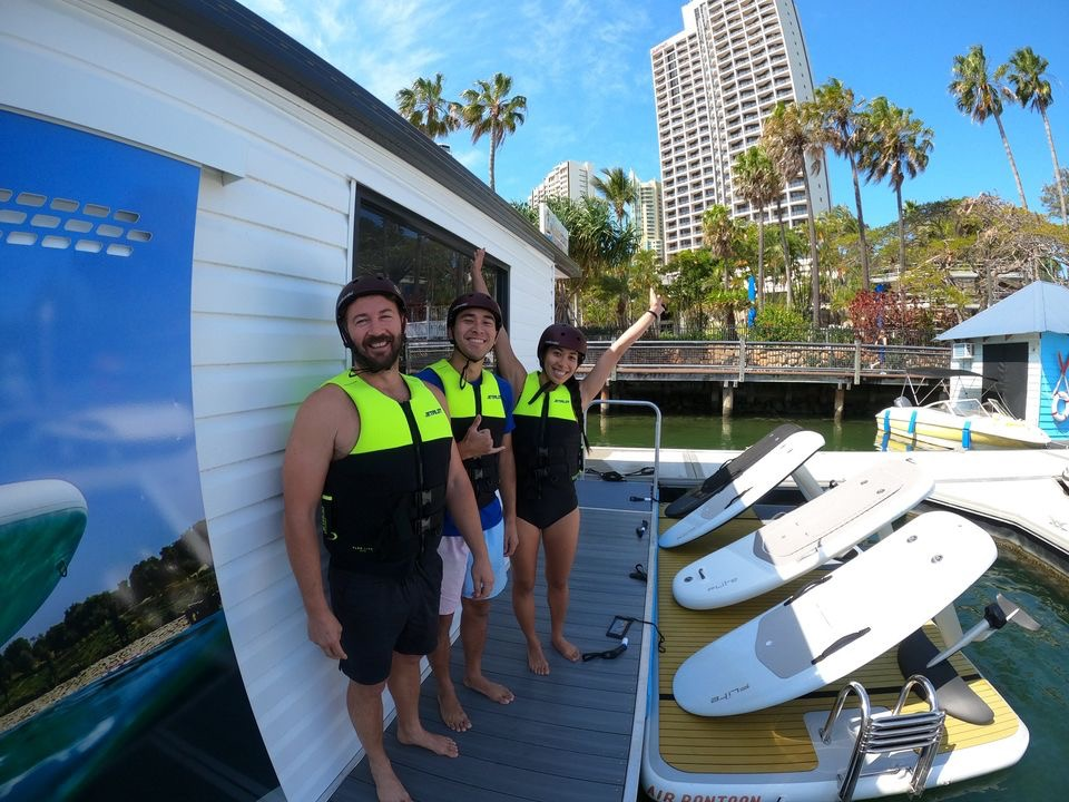 efoil fliteboard gold coast hydrofoil school lesson